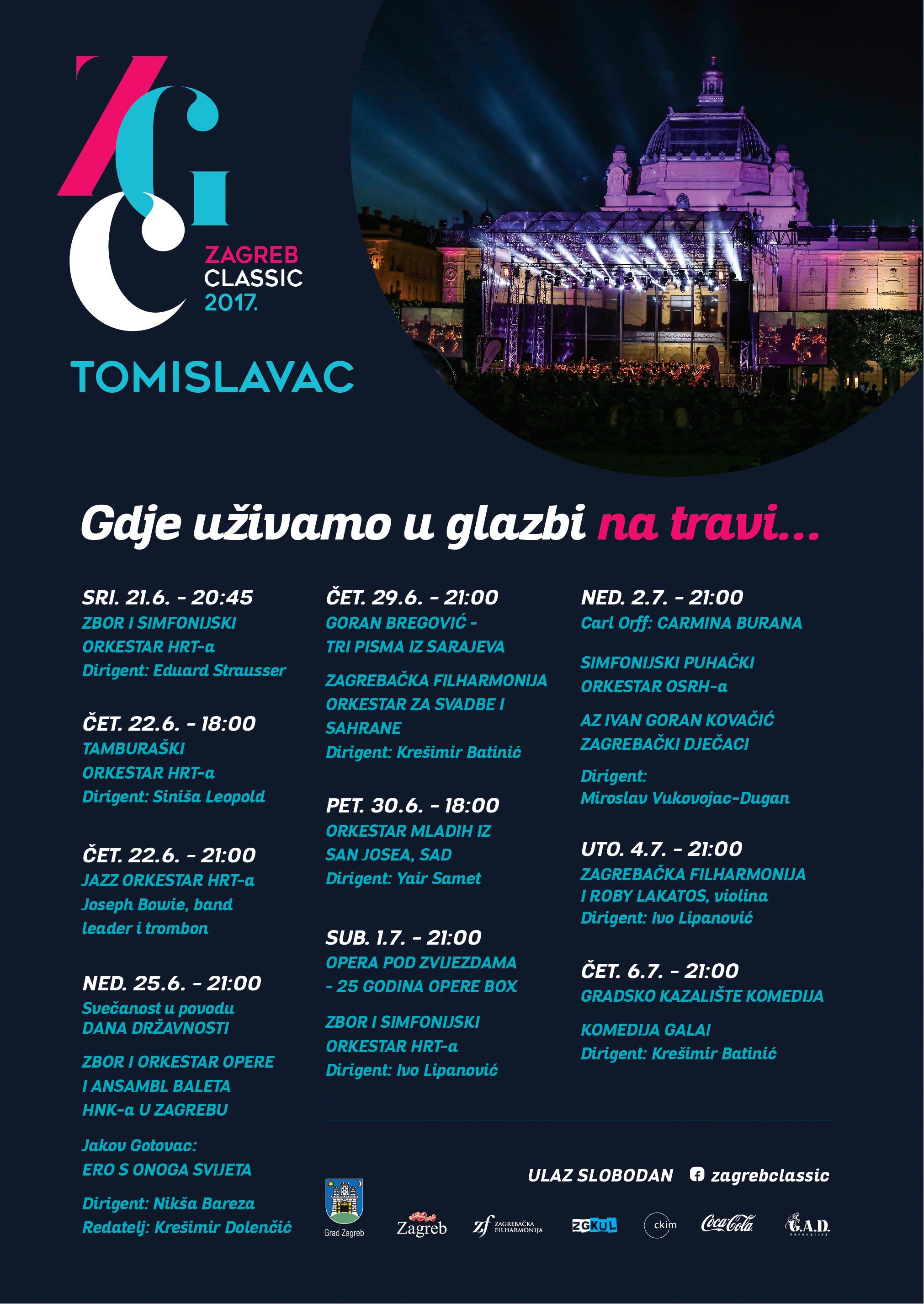 ČAROBNI BROADWAY - koncert u sklopu Festivala Zagreb Classic