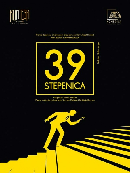 J. Buchan - A. Hitchcock: 39 STEPENICA
