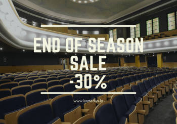 Za kraj sezone – popust od 30% za sve predstave u lipnju!