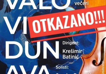 Otkazan koncert VALOVI DUNAVA